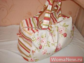 ef074584be62 Конечно же для дорожной сумки лучше всего выбрать более универсальную ткань,  которой понадобится где-то 75 на 150 сантиметров.